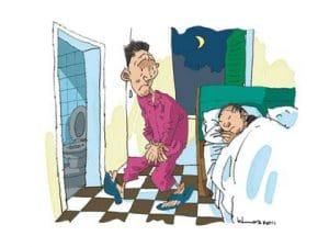 tieudem 300x225 - Tiểu đêm mới biết… bệnh nhiều!