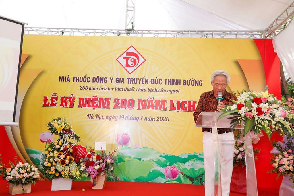 le ki niem 200 nam lich su nha thuoc dong y gia truyen duc thinh duong 5 1024x683 - Lễ kỉ niệm 200 năm lịch sử nhà thuốc Đông y gia truyền Đức Thịnh Đường