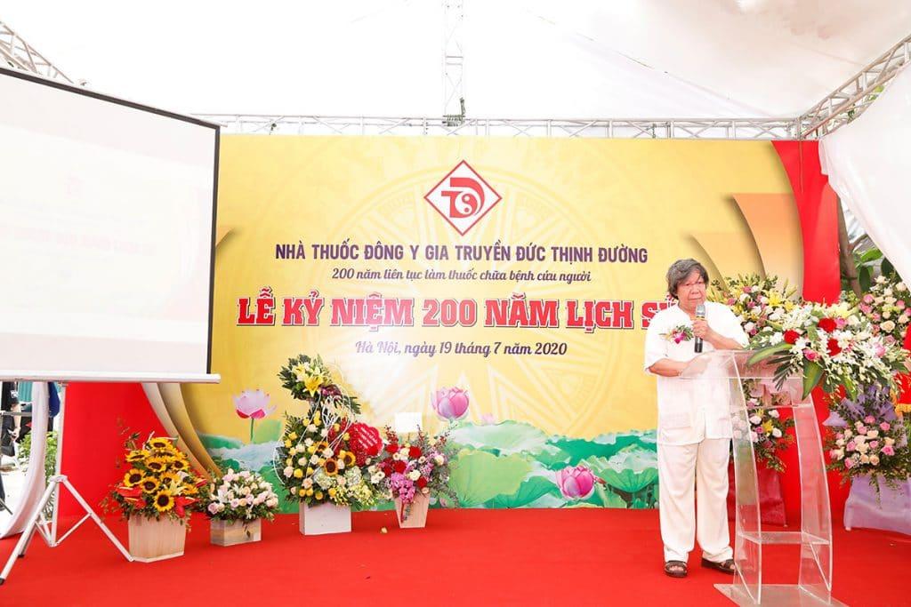 le ki niem 200 nam lich su nha thuoc dong y gia truyen duc thinh duong 6 1024x683 - Lễ kỉ niệm 200 năm lịch sử nhà thuốc Đông y gia truyền Đức Thịnh Đường