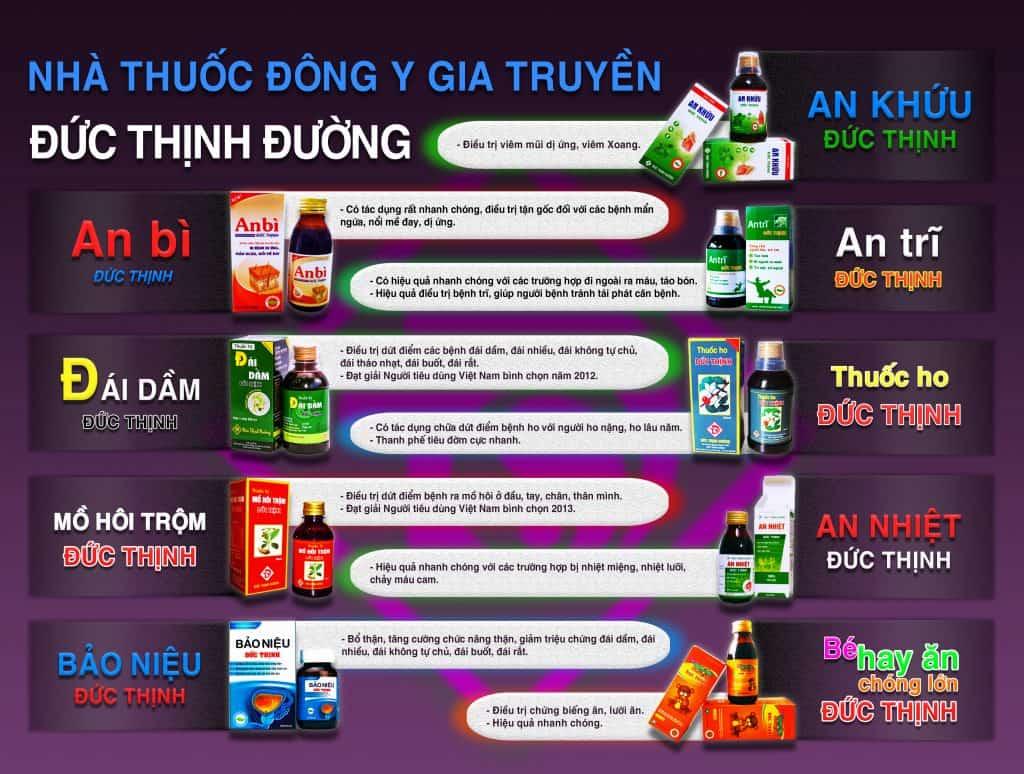 san pham nha thuoc dong y gia truyen duc thinh duong min - Trang chủ