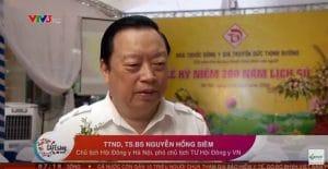 VTV3 đưa tin về nhà thuốc Đức Thịnh Đường và Bảo niệu Đức Thịnh