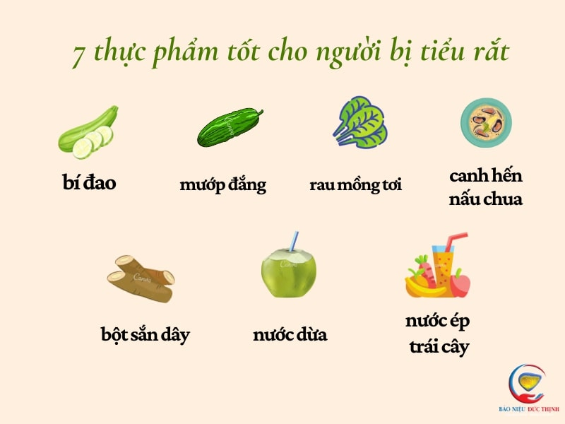 nguoi bi tieu rat nen an gi 3 - (HỎI ĐÁP) Người bị tiểu rắt nên ăn gì? 7 thực phẩm giúp cải thiện tốt tình trạng tiểu rắt