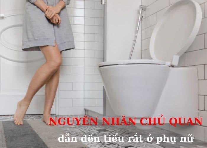 Nguyen nhan chu quan - Cách chữa tiểu rắt ở phụ nữ hiệu quả nên thử ngay