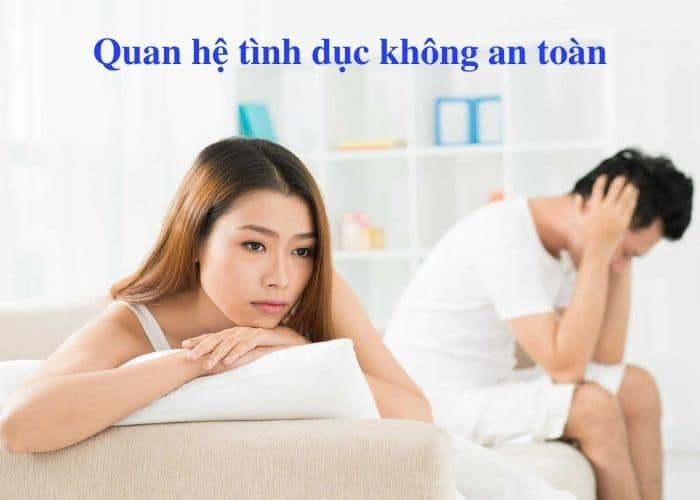 Quan he tinh duc khong an toan - [ BẠN CÓ BIẾT] Nguyên nhân gây viêm đường tiết niệu ở nữ giới phổ biến
