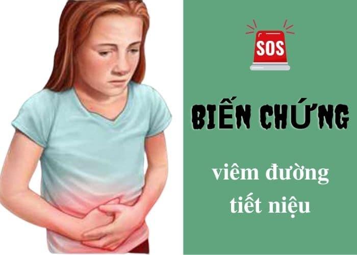 bien chung viem tiet nieu - Cảnh giác trước biến chứng của viêm đường tiết niệu nếu không muốn sức khỏe gặp vấn đề