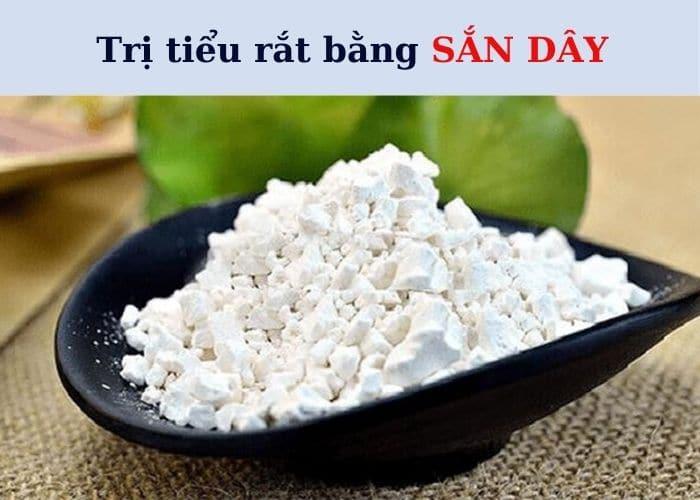 tri tieu rat bang san day 1 - Top 7+ Bài thuốc trị tiểu rắt cực hay ngay tại nhà đơn giản