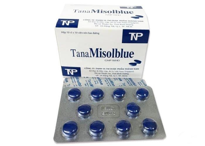 12.thuoc tri viem tiey nieu mau xanh TanaMisolBlue cong dung 1 - TOP 5+ thuốc VIÊM ĐƯỜNG TIẾT NIỆU màu xanh tốt nhất hiện nay