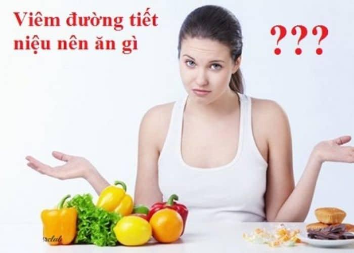 6. viem tiet nieu gay tieu buot nen an gi 1 - Người bị TIỂU BUỐT nên ăn gì để mau khỏi? Bật mí chế độ ĂN HEALTHY