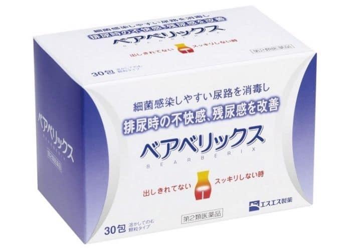 thuoc chua viem tiet nieu nhat bear berix - TOP các thuốc điều trị viêm đường tiết niệu của nhật tốt nhất trên thị trường