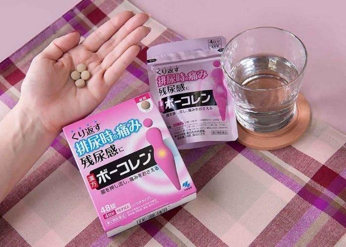 thuoc chua viem tiet nieu nhat kobayashi su dung the nao - TOP các thuốc điều trị viêm đường tiết niệu của nhật tốt nhất trên thị trường