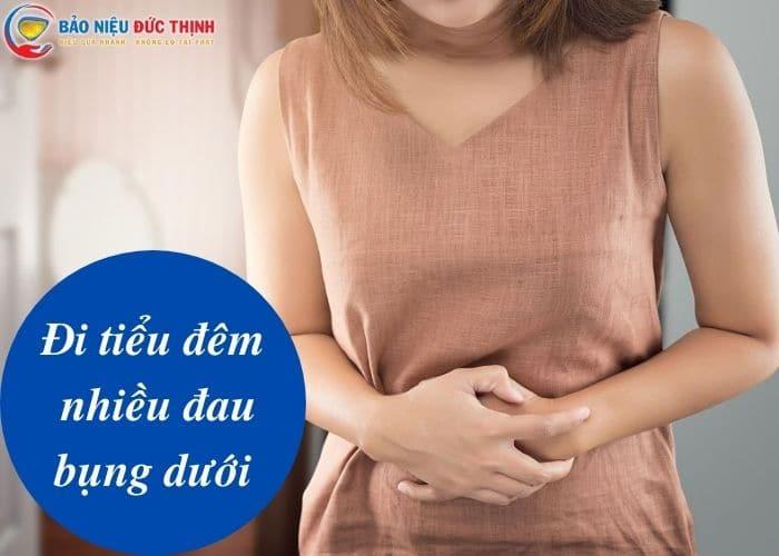 1. di tieu dem nhieu dau bung duoi - CẢNH BÁO Hiện tượng đi tiểu nhiều đau bụng dưới nguy hiểm
