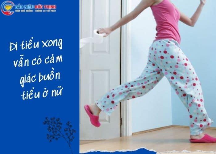 1.di tieu xong co cam giac buon tieu o nu - Vừa đi tiểu xong lại có cảm giác buồn tiểu ở nữ là bị gì? Có nguy hiểm không?