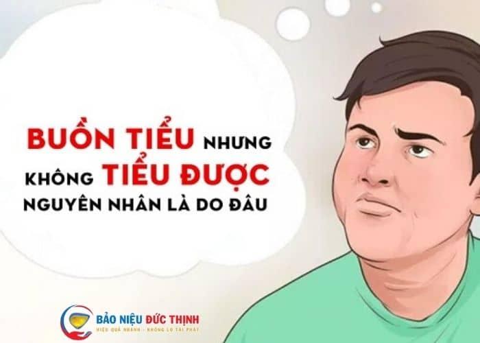 buon tieu nhung tieu khong duoc - Bật mí cách chữa buồn đi tiểu nhưng tiểu không ra hết hiệu quả