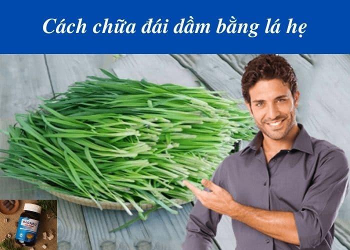 chua dai dam bang la he - Mách ba mẹ cách chữa đái dầm bằng lá hẹ cực kỳ hiệu quả