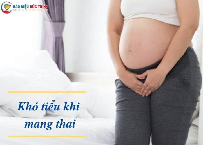 kho tieu khi mang thai - 99% Mẹ bầu bị khó tiểu khi mang thai tháng cuối. Bật mí cách chữa an toàn