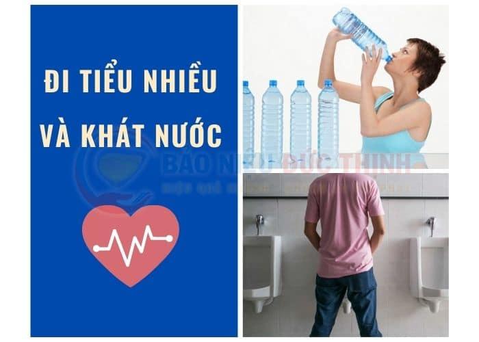 tieu nhieu khat nuoc - [GIẢI ĐÁP] Đi tiểu nhiều và khát nước liên tục là bị bệnh gì?