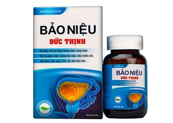 thuoc bo than tieu dem bao nieu duc thinh - Top 5+ Thuốc bổ thận giảm tiểu đêm tốt nhất trên thị trường hiện nay