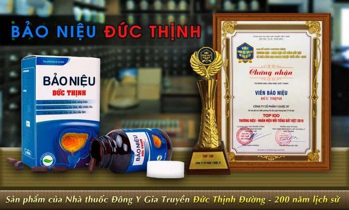 viem tuyen tien liet o nguoi gia 12 - Bảo Niệu Đức Thịnh Top 100 nhãn hiệu thương hiệu nổi tiếng Đất Việt 2019